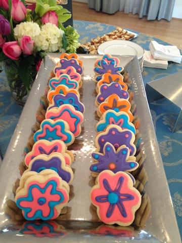 Lululemon Event: Sugar Cookie Sandwiches
