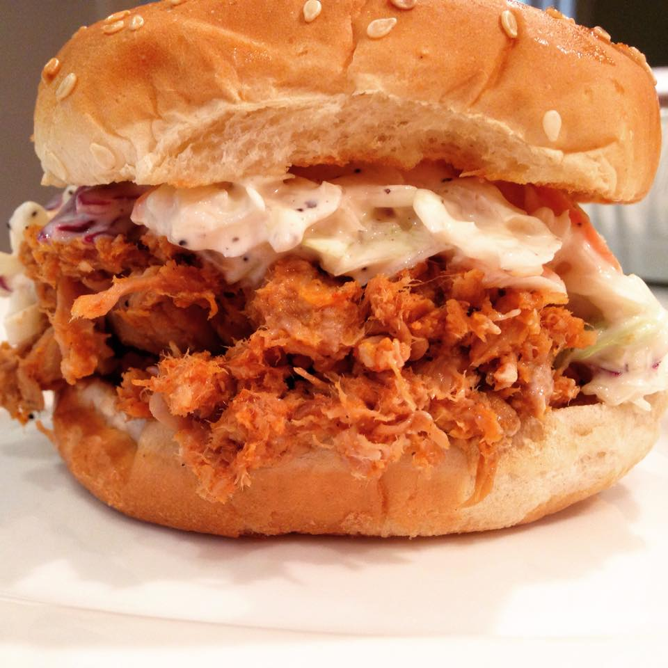 BBQ Pulled Pork with Cole Slaw